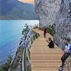 Pista ciclabile Lago di Garda, Limone-Trentino