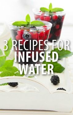 Dr Oz shared the best ways to use Infused Waters to tackle your everyday complaints, like the Berry Blast Recipe you can use for its anti-aging properties. http://www.recapo.com/dr-oz/dr-oz-recipes/dr-oz-relaxation-water-berry-blast-recipe-bloating-infusion/