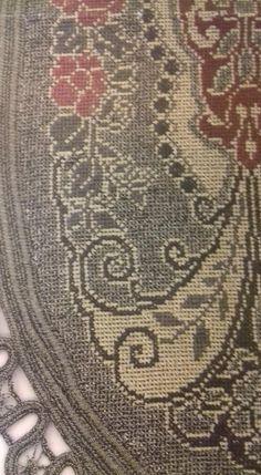 Gallery.ru / Фото #5 - 667677 - ergoxeiro Cross Stitch Embroidery, Cross Stitch Patterns, Bohemian Rug, Decor, Recipes, Dots, Punto Cruz, Decoration, Decorating