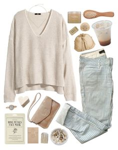 """Chilly is the evening time//"" by nandim ❤ liked on Polyvore featuring Ash, Isabel Marant, H&M, Kendra Scott, Forever 21, Gap, The Unbranded Brand, Tamara Comolli and Natura Bissé"