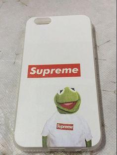 ファッションSupremeカーミットKermit the Frog iphone7 6ケースアイフォン6s iPhone5SE/6Plusカエルハードケースソフト携帯カバー