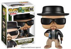 Television - Breaking Bad  Heisenberg Figurita de la marca Funko en su gama  Pop (pequeños y cabezones) mostrándonos al protagonista de la serie  Breaking Bad ... b3391f6e1da