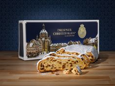 Christmas #stollen from #Dresden, Germany