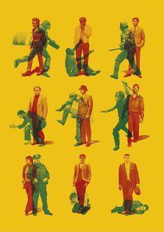 The Stanford prison experiment- Poster bicolor