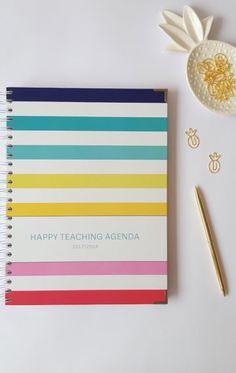 Happy Teaching Agenda Rainbow 2017/2018