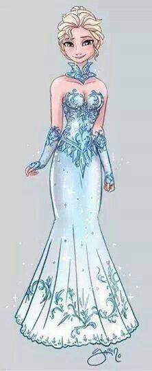 DeviantArt: More Like Elsa and Evil!Elsa by Yamino Frozen Disney, Walt Disney, Elsa Frozen, Disney Magic, Disney Art, Disney Movies, Disney Characters, Frozen Art, Elsa Olaf