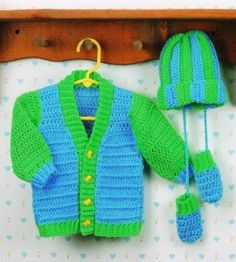 Infant Ensemble - this would make a great lettermans style sweater