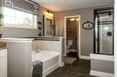 Fischer Homes Keller Master Bathroom