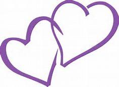 . Purple Stuff, Purple Love, All Things Purple, Shades Of Purple, Heart Clip Art, Purple Hearts, In Natura, Color Magic, Fantasy Pictures