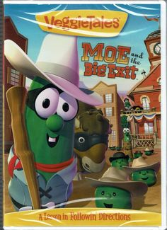 VeggieTales: Moe and the Big Exit - DVD, 2007, New Sealed, Rated G
