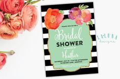 bridal shower black & white - Buscar con Google
