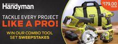 The Family Handyman - Tool Set Sweeps