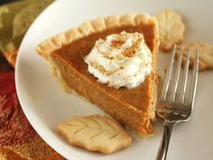Try our best pumpkin pie recipe from Food.com for a dessert that is the perfect balance of spicy and sweet.