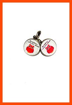 boucles d'oreilles pour les maîtresses : Boucles d'oreille par zaza-la-bricole