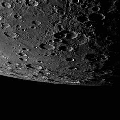 Out on a Limb: NASA/Johns Hopkins University Applied Physics Laboratory/Carnegie Institution of Washington 10/24/14: Alver crater appears on the limb of Mercury, just on the horizon.