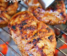 Tangy Roadside Chicken recipe: Try this Tangy Roadside Chicken recipe, or contribute your own. Vinegar Chicken Marinade, Marinated Chicken Thighs, Chicken Marinade Recipes, Chicken Marinades, Roadside Chicken Recipe, Big Green Egg Smoker, Buttered Corn, Cooking Sauces, Chili Lime