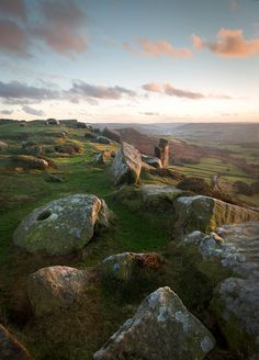 Curbar Edge, Peak District, England by Matt Oliver