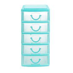 Mini Blue 5-Drawer Cabinet at Big Lots.