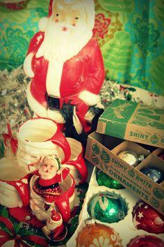 Vintage Christmas goodies