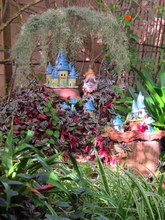 As Time Goes By, Enchanted Garden, Faeries, Bird Feeders, Give It To Me, Create, Outdoor Decor, Fairies, Fairy