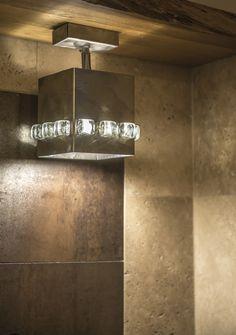 Wandleuchten - WANDLEUCHTER geometrisches Design H20 - ein Designerstück von Archerlamps bei DaWanda