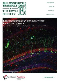 and cannabinoid receptors mediate effects of the endocannabinoids and anandamide in mammals. In canonical endocannabinoid-mediated synaptic plasticity, Endocannabinoid System, Royal Society, Science Biology, Neurotransmitters, City State, Nervous System, Evolution, Communication, Medical