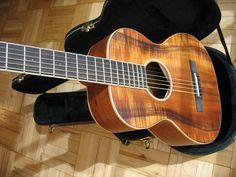Rare All-Koa Parlour Guitar by Larrivee - Vintage Model (like new)