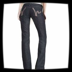 """Citizens of Humanity Jeans These jeans are in great shape. The inseam is 34"""" and the rise is 8"""". The are low waisted and straight legged. CROCHET H STRETCH JEANS.  98% cotton 2% elastan. Citizens of Humanity Jeans Straight Leg"""