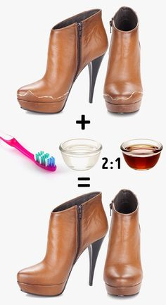 11 Quick Tips to Make Your Shoes Look Like You've Just Bought Them How To Clean Suede, Clean And Shiny, Suede Shoes, Leather Shoes, Patent Leather, Clean Shoes, Calf Boots, New Shoes, Diy Clothes