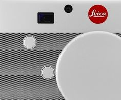This is the beautiful Leica camera designed in part by Apple's Jony Ive