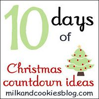 10 Days of Christmas Countdown Ideas