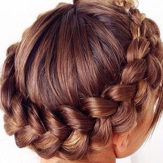 round braid hair