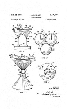 NASA patent for returning from moon.