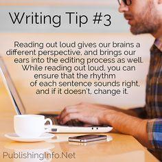 Writing Tip #3 from PublishingInfo.Net