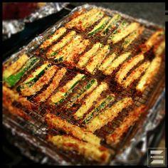 Oven-Fried Zucchini Sticks