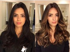 Hair styles 51 Ideas Hair Ideas Haircuts Ombre Bridal Lingerie on Your Wedding Night Article Body: I Brown Hair Balayage, Blonde Hair With Highlights, Color Highlights, Silver Blonde Hair, Brunette Hair, Brunette Color, Brown Hair Shades, Brown Hair Colors, Cabelo Ombre Hair