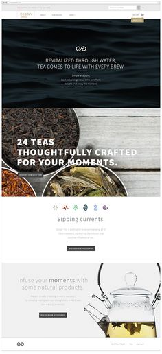 Ocean Tea on Behance