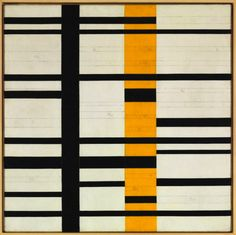 Burgoyne Diller, Untitled Third Theme (unfinished), ca. 1950