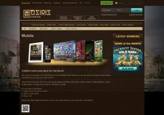 Osiris Online Casino Its target audience is mainly the European market