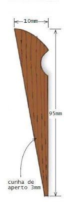 Ah! E se falando em madeira...: Dicas: Fazer uma mini plaina