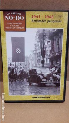 LOS AÑOS DEL NO-DO / 1941-1942 / AMISTADES PELIGROSAS / DVD DE LUJO.