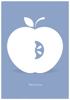Apple Minimalist Poster, Medium Printable Art, Scandinavian Art, Blue Serenity, Kitchen Decor, Mid Century Modern, Instant Download   The modern aesthetic of the poster make it a piece of art that fits well with any decoration style. Great for any room or space, perfect for those who love the lightness and simplicity of scandinavian design.