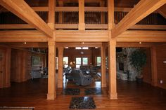 Southland Log Home Photos & Pictures | Longleaf Lodge 016
