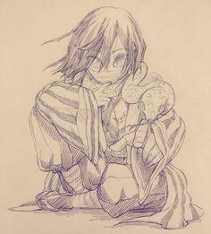 Anime Drawings Sketches, Anime Sketch, Cool Drawings, Me Anime, Anime Demon, Anime Manga, Demon Slayer, Slayer Anime, Kawaii Anime Girl