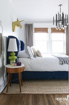 Mid-Centry Modern Bedroom | Best of 2016: Interiors - Inspired by Charm