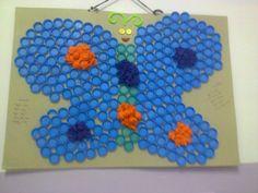 kelebek etkinliğimz grupça yapalım dedik sewgili öğrenclermle
