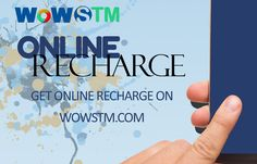 Online recharge is hassle free and instantaneous procedure. Do it from wowstm.com and get exiting rewards and #cashback. #onlinerecharge, #onlineeasyrecharge, #onlineportal. #rechargeonline, #phonerecharge
