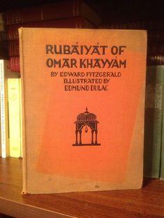 1930 Rubaiyat Of Omar Khayyam Illustrated By Edmund Dulac