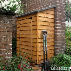 3' x 2' Store-Plus Overlap Tall Garden Storage Box | Shedstore 3' x 2' (1.04x0.59m)  £89