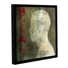 Acupuncture by Elena Ray Gallery-Wrapped Floater-Framed Canvas